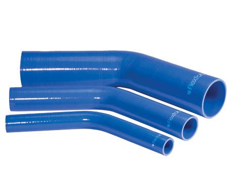 45 degree silicone elbow
